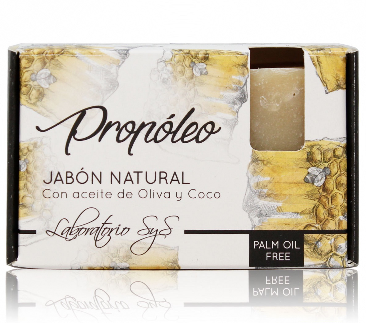 JABON NATURAL PROPOLEO