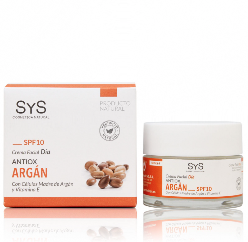 CREMA FACIAL SYS ARGAN SPF10 50ml
